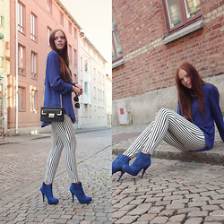 Jennifer Nilsson - Acne Studios Shirt, Forever 21 Pants, Kapp Ahl Necklace, Donna Girl London Heels - Where to?