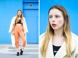 Marie Jensen - Second Hand Jacket & Leggings, Marni Shoes, Nike Top - The norm