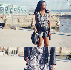 Muny B - Primark Playsuit, H&M Sunglasses - By The Bay