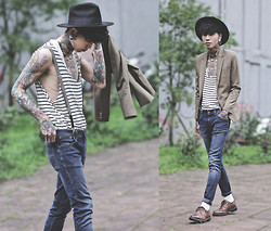 IVAN Chang - Nudie Jeans Skinny - 060614 TODAY STYLE