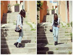 She Wears -  - Boyfriend jeans