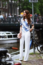 Virgit Canaz - Sheinside Shirt, Mango Wide Trousers - Hey June
