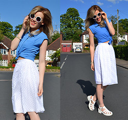Anna - Primark Skirt, Primark Shirt, New Look Sandals - Like a lady