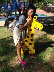 Frances -  - I love my giraffes❤️