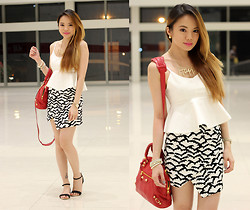 Stephanie D - Pinkaholic Top, Pinkaholic Skirt, Fashion Spice Manila Necklace - Happy