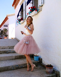 Coco Bolinho - Chic Wish Skirt, Jessica Buurman Heels, Vjstyle Bag, Zara Bracelet - NEVER LET GO OF YOUR DREAMS