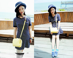 Teasy Sun - C&A Bag, Tennie Wennie Dress - Sailor by the sea