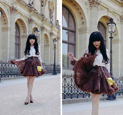 Willabelle Ong - Fluffy Tulle Skirt - Tulle