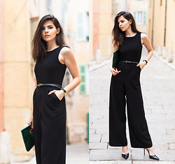 Doina Ciobanu - Lovers + Friends X Monica Rose Jumpsuit - ON THE STREETS OF ST TROPEZ