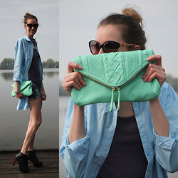 FREAKDELAFASHION ♡ - Street Level Bags, Frontrowshop Front Row Shop - THE BIG SHIRT