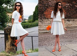 Gosia B. - Diy Skirt - Off white set