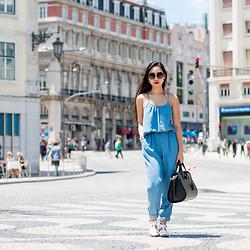 Minh Nguyen - Alexander Wang Bag, Zara Jumpsuit, Asos Shoes, Asos Sunglasses - Exploring the city