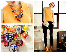 Tini Tani - Zara Top, Zara Necklace - My CHIC TRIP 2014