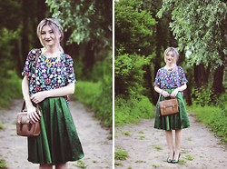 ♡Anita Kurkach♡ - Wholesale7 Skirt, Wholesale7 T Shirt, Asos Shoes, Asos Bag, Appleineye Necklace - Pretty Little Thing.