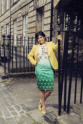 Farah Al Zadjaly - Zara, The T Shirt Swag, Jonathan Saunder, Zara Zara/ Faz Fashion - The Yellow Dream