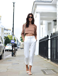 Hedvig ... - Acne Studios Trousers, Stella Mccartney Top, Gucci Bag - Cropped days