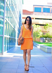 Eye Like Fashion - Haute Hippie Sayidres - Summer Tangerine