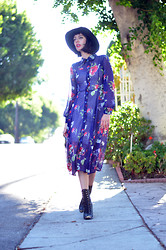Amy Roiland - Romwe My Blog, Jeffrey Campbell Boots, Lack Of Color Hat - Won't look back