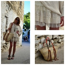 Nina Papaioannou TRENDSURVIVOR - Zara Lace, Gat Rimon Jumper, Isabel Marant Sandals - Vacation