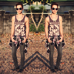 Ira Giorgetti - Topman Vest, All Saints Jeans, Topman Pendant - Heat of the Moment