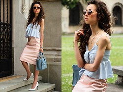 Gosia B. - Diy Skirt - Summer pastels
