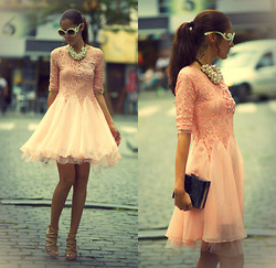 Ruxandra Ioana - Sheinside Dress - Pink Dream .