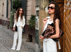 Gosia B. -  - Total white look