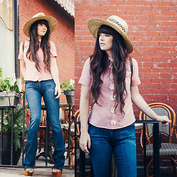 Rachel-Marie Iwanyszyn - True Religion Jeans, Andrea Diodati Shirt - INTO THE BLUE.