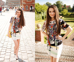 Mirella Szymoniak - Sheinside Dress, Blackfive Bag - Wroc.love