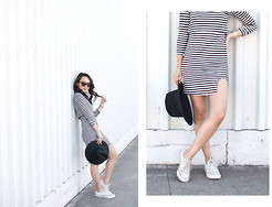 Stephanie N. - Missguided Dress, River Island Hat - Between the Lines