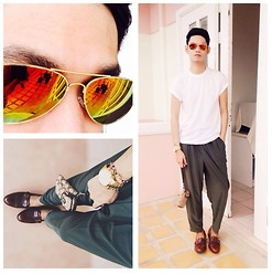 Rhonnel Tan Santos - Topman Tee, Michael Kors Watch, Coach Purse - 080114