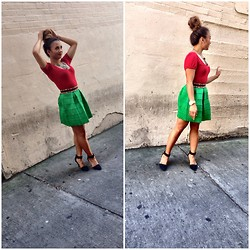 Geraldine Gigi Styleclassedge -  - Rock red and green in July