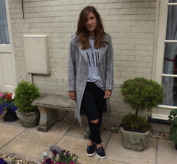 Charlotte Smith - Topshop Coat, Asos Top, Primark Shoes - Not an Option