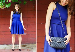 Daphne Verzosa - Mango Quilted Shoulder Bag, Twinky Pumps - Step Forward