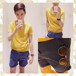 Rhonnel Tan Santos - Topman Tee, Topman Shorts, Topman Sunnies, Swatch Watch - 080314