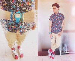Rhonnel Tan Santos - Topman Button Down Shirt, Tomato Swap Watch, Golla Shoes - Let me in.. Let me get closer..