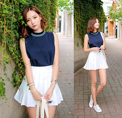 Chuu chaeeun -  - Tennis look