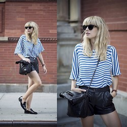 Lisa Dengler -  - LEATHER 'N' STRIPES