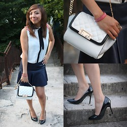 "Holy Rakoto - Zara Bag, Stradivarius Heels - ""Rock-mantic look!"""