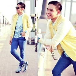Lo Pascual ⚓ - Pull & Bear Shirt And Jacket, Nike Shoes - I'll cross that bridge when I get to it