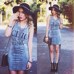 Trashy Fame - Miss Couture Dress, Di Cristalli Boots - Chic Street