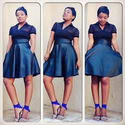 Phumzile Twala -  - A touch of blue ........
