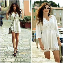 Paulina M - Sh Dress - White dress