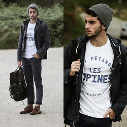Clément Lasserre - Club Pétanque Tee, Modekungnen Backpack - Sail dat world