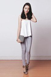 Tricia Gosingtian - Young Hungry Free Top, Topshop Pants, Romwe Bag, Gifts Ahoy Heels - 081414-2