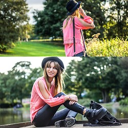 Agata P - Stylemoi Top, Primark Pants, Banggood Boots, H&M Hat - Me Against The World