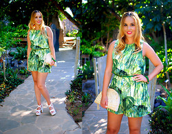 Nery Hdez - Vessos Playsuits, Sammydress Sandals, Rosewholesale Earrings, Maharani By Elisa Salas Bracelets - Palmetum