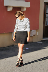 Christina C - Le Chateau Crop Top, Le Chateau Skirt, Le Chateau Shoes, Chanel Purse - High Definition
