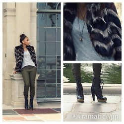 Davanna Edwards - Ella Moss Coat, Forever 21 Top, Forever 21 Pants, William Rast Boots - Falling into Fall