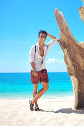 David Guison - Perry Ellis Button Down - So Long, Summer